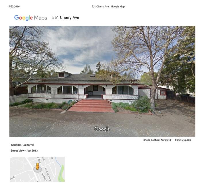 551 Cherry Ave - Google Maps