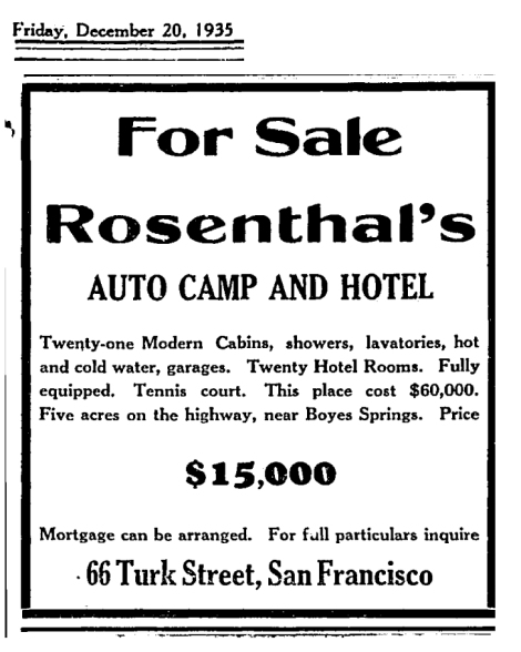 it1935rosenthalsforsale