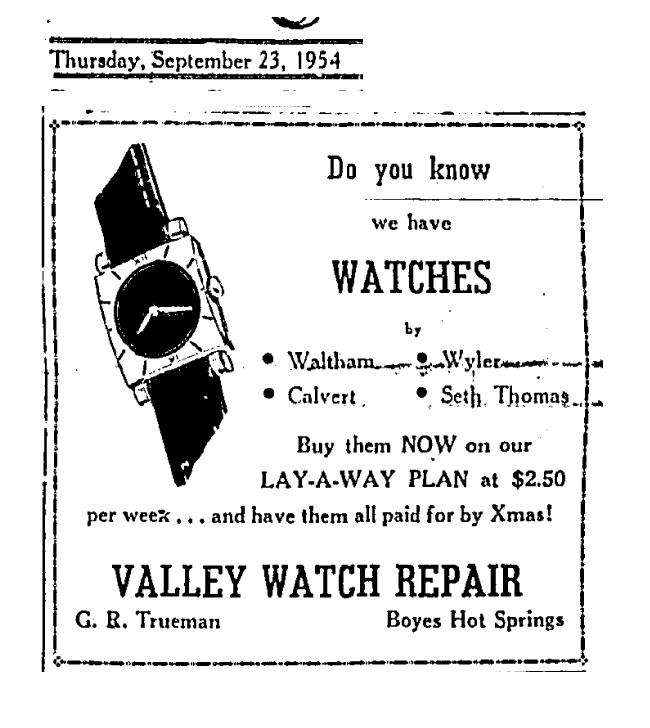 ValleyWatchad1954