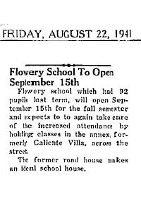 CalVillaFlowerySchool