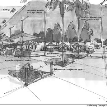 Ross Drulis Cusenbery Plaza Concept