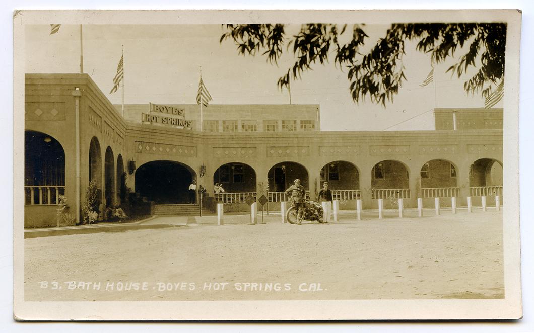 BathhouseentranceMotorcycle1927