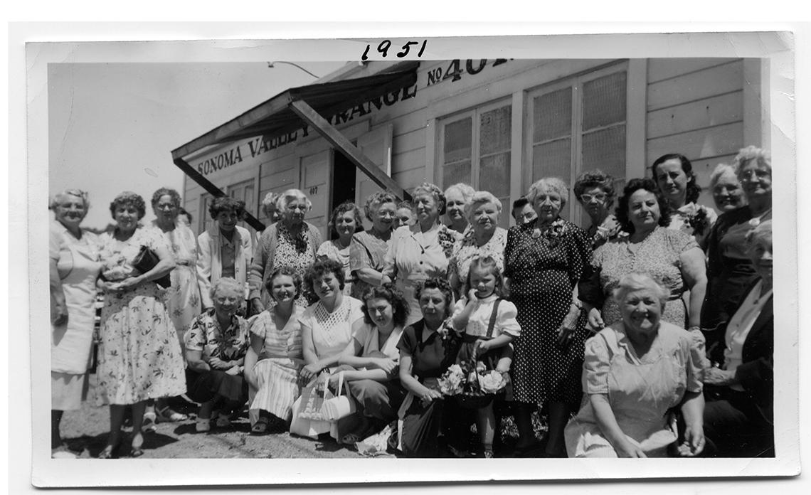 GrangeLadies1951