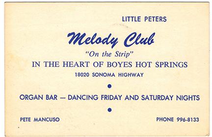 Melodycard