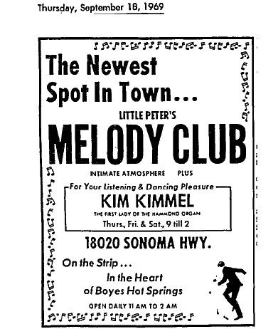 MelodyClubAd1969
