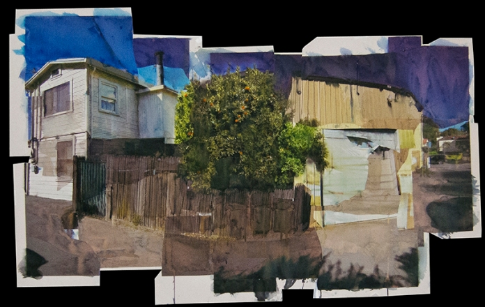 "Mrs. Lanning's Tree 41""x27"" 5/2012"